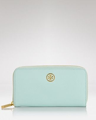 Tory Burch Wallet - Robinson Zip Saffiano Leather | Bloomingdale's