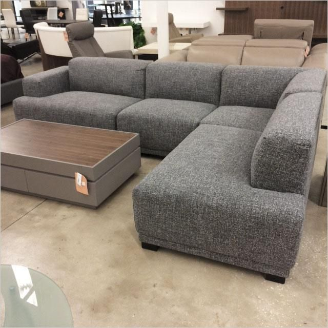 Grey Sectional Sofa Outlet Scan Design Modern Contemporary
