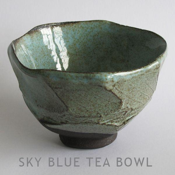 Clementina Ceramics SKY BLUE TEA BOWL
