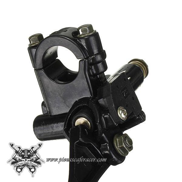 25,76€ - ENVÍO GRATIS - Maneta de Freno Derecha/Izquierda con Mini Bomba Hidráulica Universales Manillar 22mm Color Negro