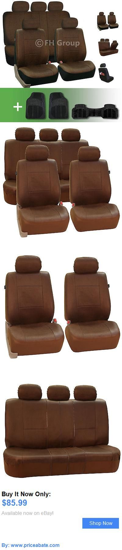 Luxury Cars: Leather Like Full Car Seat Covers Luxury Brown With Floor Mats BUY IT NOW ONLY: $85.99 #priceabateLuxuryCars OR #priceabate