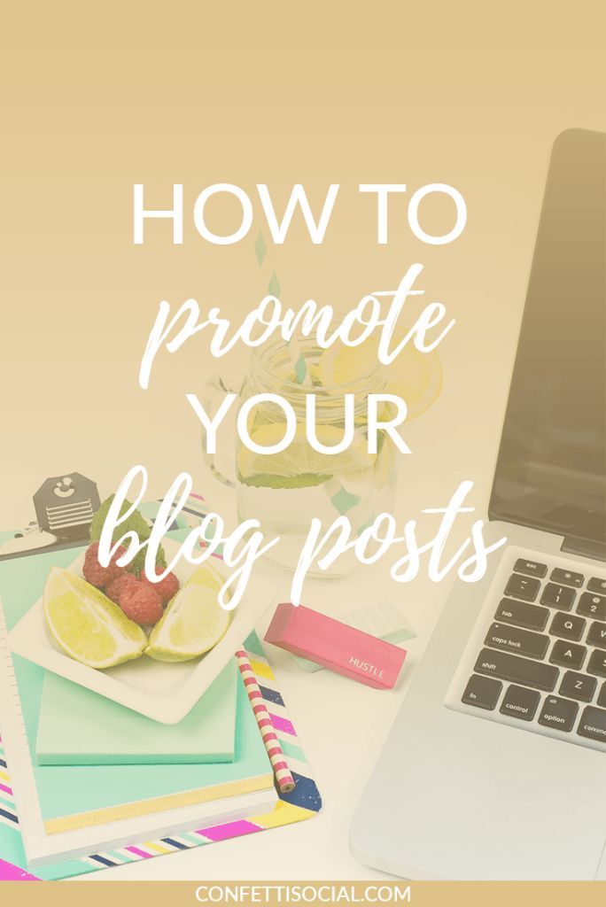 Today I'm sharing how to promote your blog posts in a few ways that you may have never thought of before.