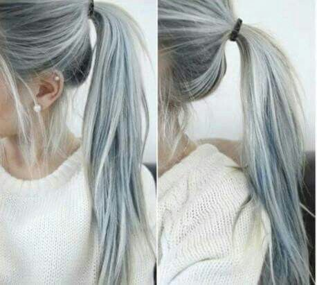 Gray Hair! I love this color!