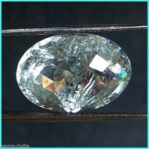 15.50 CTS CERTIFIED UNHEATED HIGH END NATURAL SANTA MARIA BLUE AQUAMARINE #gemsindiaTopRatedPowerSeller5RatingeBay