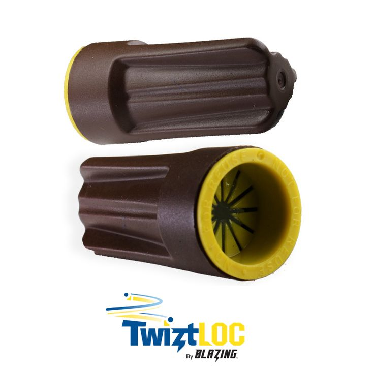For all landscape irrigation and outdoor lighting needs, the TwiztLOC Twist Locking Waterproof Connectors with Pre-Filled Silicone by Blazing Products speeds up installation time and prevents problems, making the professional installer or repair specialist's life easier and more profitable.