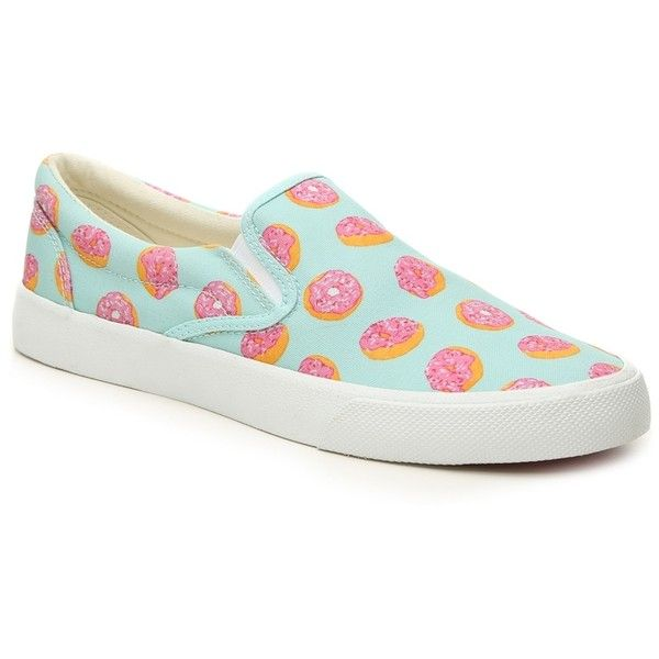 Bucketfeet Donut Slip-On Sneaker Women's Shoes | DSW (13 AUD) ❤ liked on Polyvore featuring shoes, sneakers, slip-on shoes, pull on sneakers, slip on sneakers, pull on shoes and slip on trainers