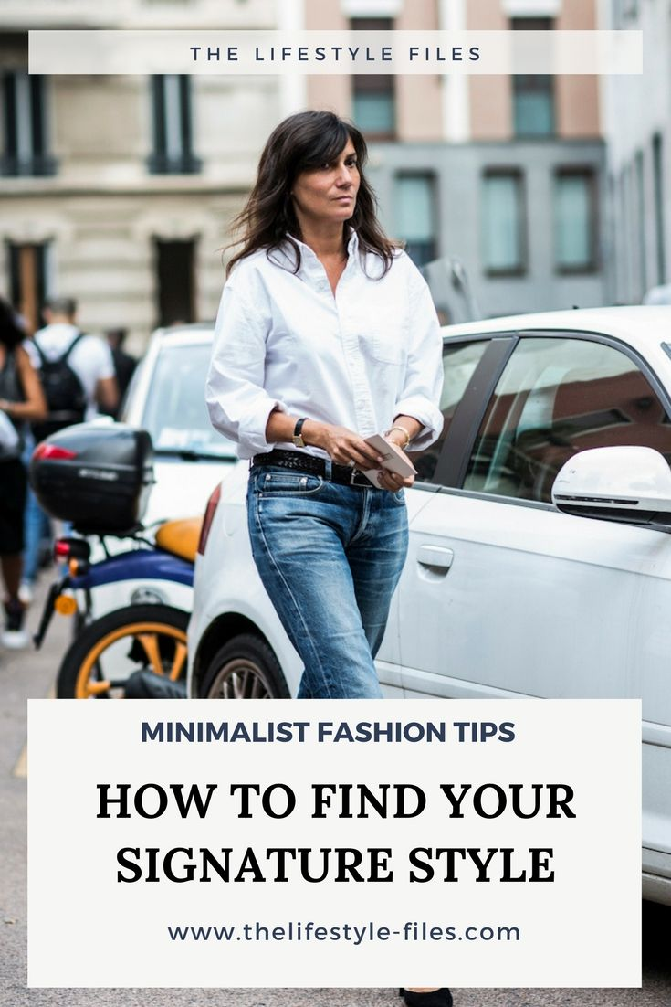 Minimalist fashion tips: The personal style uniform - Dori Walker