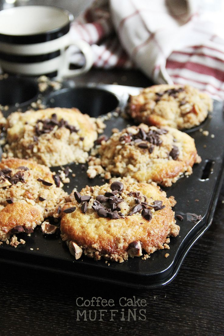 Dinkel Coffee Cake Muffins Surprise - Dinkel, Råsocker & Hasselnötscreme - CHOSEFRi