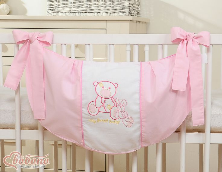 "Pink toys bag ""Best friends"" / Bobono"