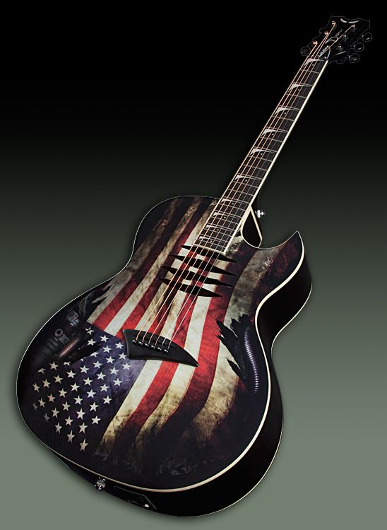 """Dave Mustaine"" Signature Mako Glory by Dean Guitars"