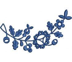 Ľudová výšivka Myjava, 12x7 cm