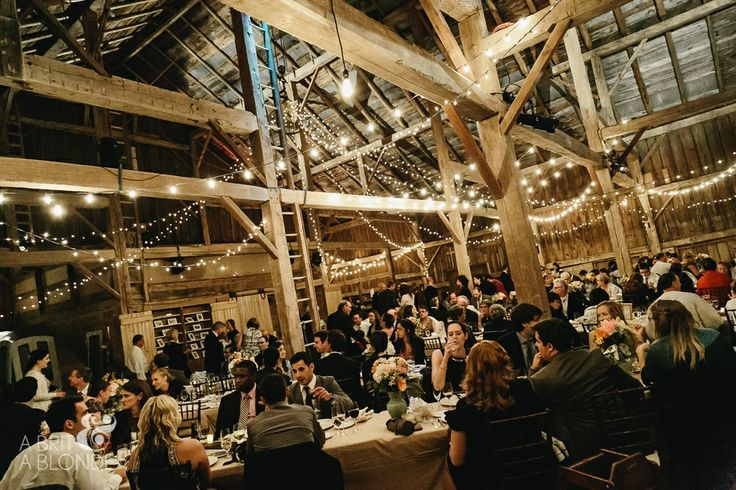 A stunning barn wedding shot at Cambium Farms by A Brit and A Blonde!