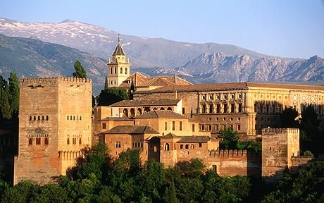 Granada, Spain - The Alhambra is beautiful and there are lots of great little shops