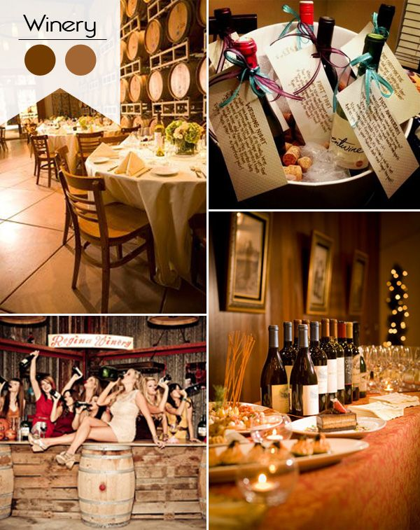 Great bridal shower theme...a winery. Unionville Winery, Ringoes, NJ is a wonderful venue.