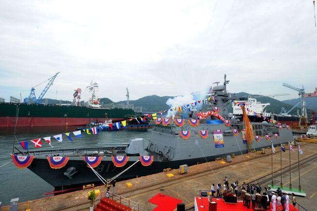 South Korea commissions sixth Incheon-class frigate ROKS Gwangju