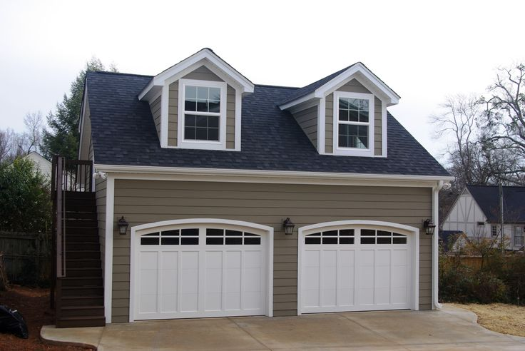 39 best images about garages barns on pinterest new home for Two car garage with loft