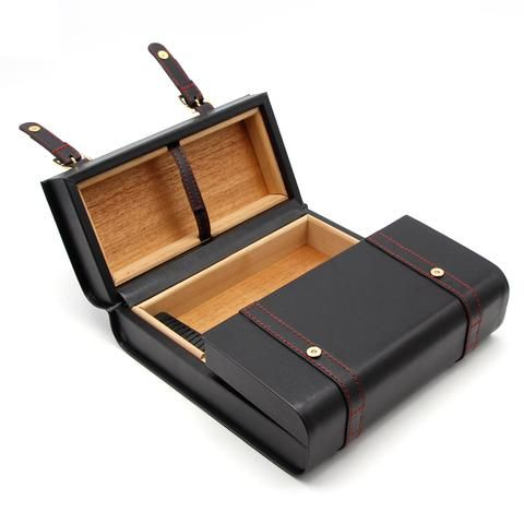 GALINER Business Briefcase Design Leather Cigar Case  / Classy design, high-quality Genuine Leather and cedarwood cigar case. Holds approx 20 cigars. / Special Discounts+FREE SHIPPING For A Limited Time #cigar #cigars #cigarlife #cigarsmoker #habanos #cohiba #cigarsnob #cigarlover #cigaraficionado #entrepreneur #havana #luxury #luxurylifestyle