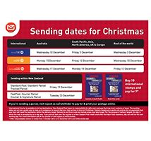 Your Christmas sending sorted | New Zealand Post