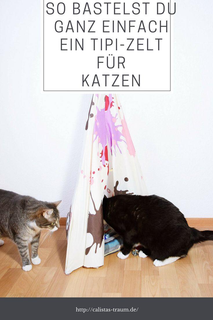 Die besten 25+ Katzenzelt Ideen auf Pinterest | Selbermachen ...