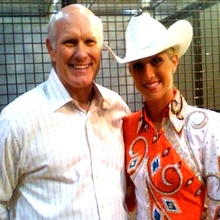 Terry Bradshaw and daughter Erin.