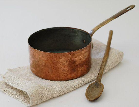 Vintage French Copper Pot
