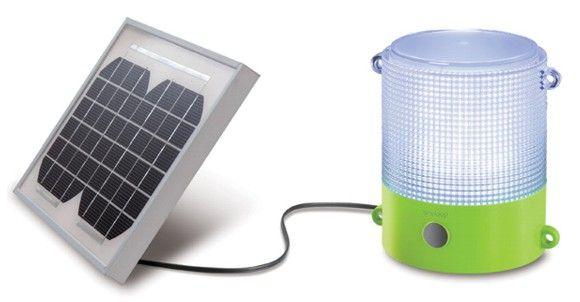 """Mediante el proyecto """"100 Mil Linternas Solares"""", Panasonic apoyará a regiones de países en desarrollo."""