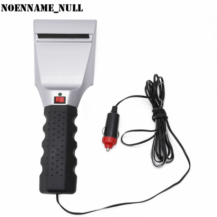 NoEnName_Null 12V Heated Ice Snow Defrost Windshield Scraper Remove Electric Auto Car Lighter http://ali.pub/1xp1ep