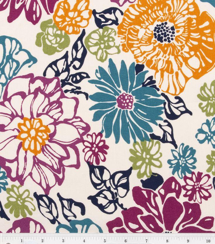 Keepsake Calico Cotton Fabric- Allover Contemporary Floral