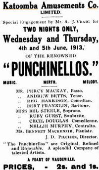 Punchinellos presented by the Katoomba Amusements Company