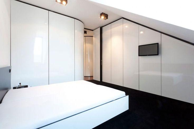 Idee per arredare la camera da letto in bianco e nero n.19