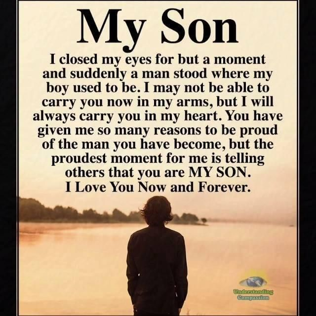 My Son Son Quotes From Mom Birthday Quotes For Daughter My Son Quotes
