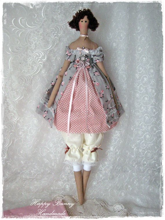 Tilda doll Fabric doll Tilda doll Princess Textile doll