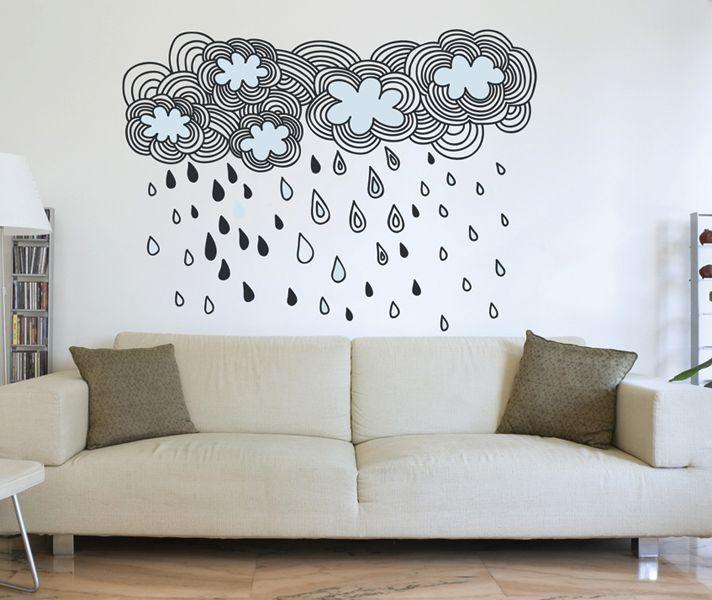 Stickaroo Wall Decals - Rainy Days