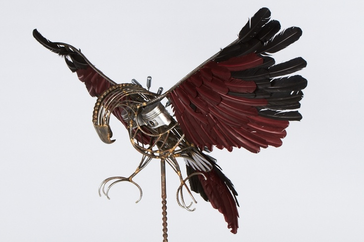 """""""Thunderbird""""  Sculpture by Beau James Roworth of Dulwich High School of Visual Arts and Design"""