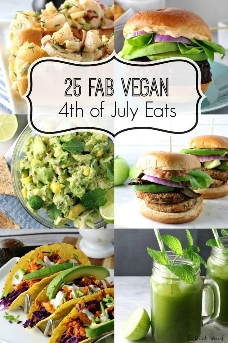 Top 25 Vegan 4th of July Eats