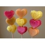 Fruit kebabs.....maybe put a brownie heart on this too