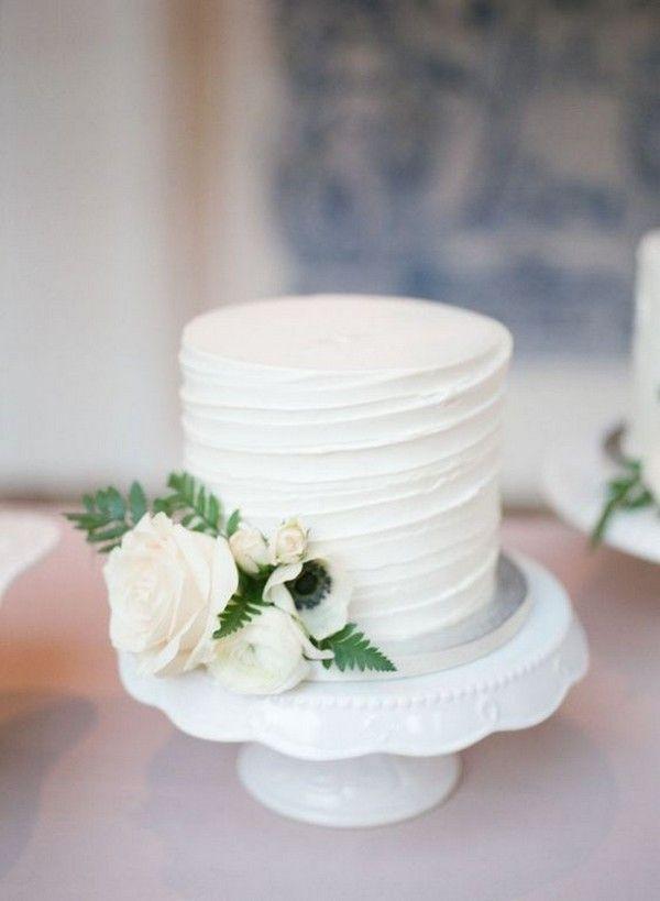 20 Simple Elegant Wedding Cakes For Spring Summer 2021 Emmalovesweddings Wedding Cake Simple Elegant Simple Wedding Cake Romantic Wedding Cake