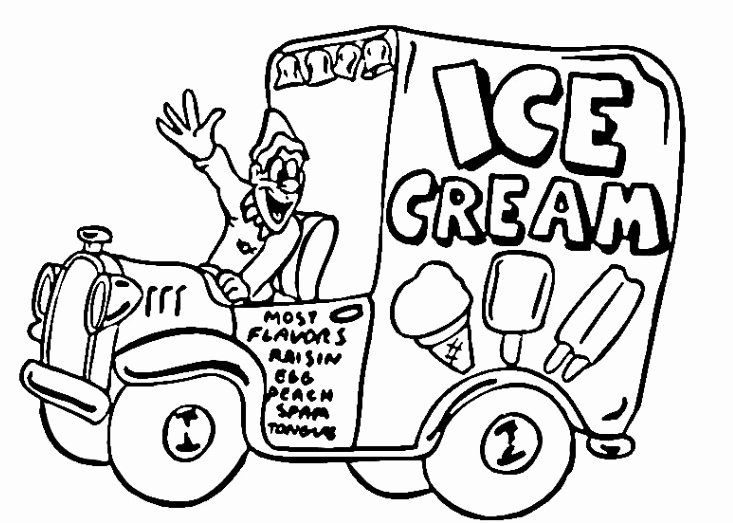 32 Free Coloring Books By Mail Truck Coloring Pages Coloring