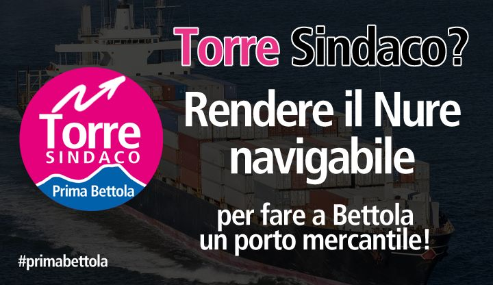 rendere il nure navigabile : Stefano Torre sindaco di Bettola