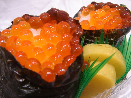 ikura Onigiri : Shibuya Tokyu Dep Store Food Show  II  yusheng  via Flickr