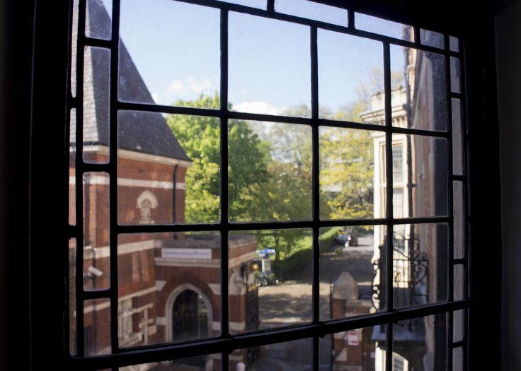 View of the entrance to the square from Dean Rees House - Photo by Dr Marianne Baker