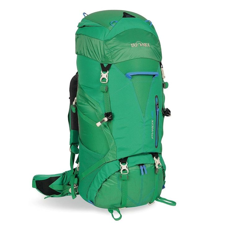 Tatonka Pyrox 45- Lawn Green Brand: TATONKA FEATURES: Dimensions 72 x 27 x 24 cms, Capacity-45 L Weight -1.75 kgs Carrying System X Light Vario-System Material 1 T-Rip Light Material 2-450 HD Polyoxford, Bottom Material-450 HD Polyoxford , Rain Cover-Included. buy now:http://bit.ly/2eX9Rps