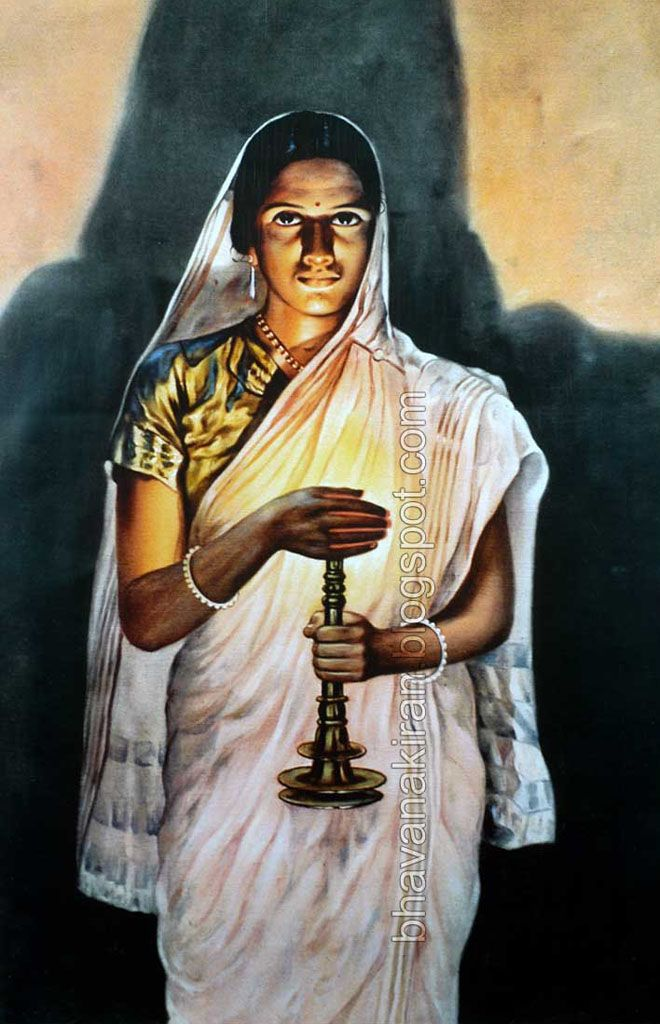 1000+ images about Raja Ravi varma on Pinterest | Lady ...