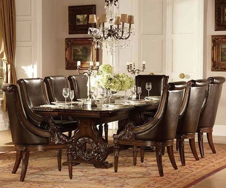 1000 images about dining room furniture on pinterest for Fancy dining room sets