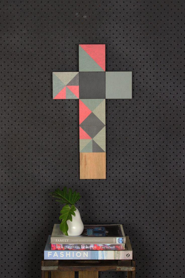 Artwork /Plywood Artwork: Click here to view 'Raspberry Bun' $115.00
