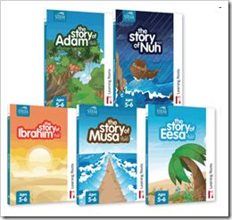 Download Islamic story Books for kids. Here is link :  http://www.learningroots.com/new/index.php/shop/story-books