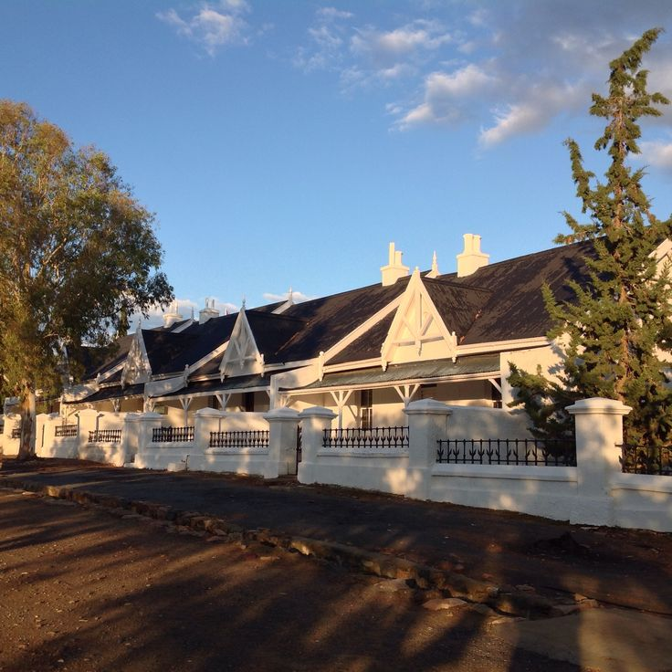 Cottages in Matjiesfontein.