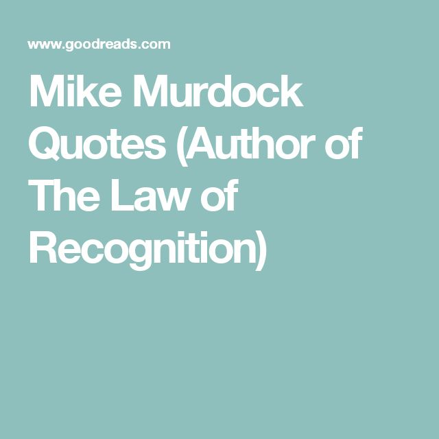 Mike Murdock Quotes: 1000+ Recognition Quotes On Pinterest