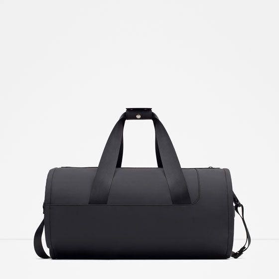 Image 1 of FABRIC DUFFEL BAG from Zara