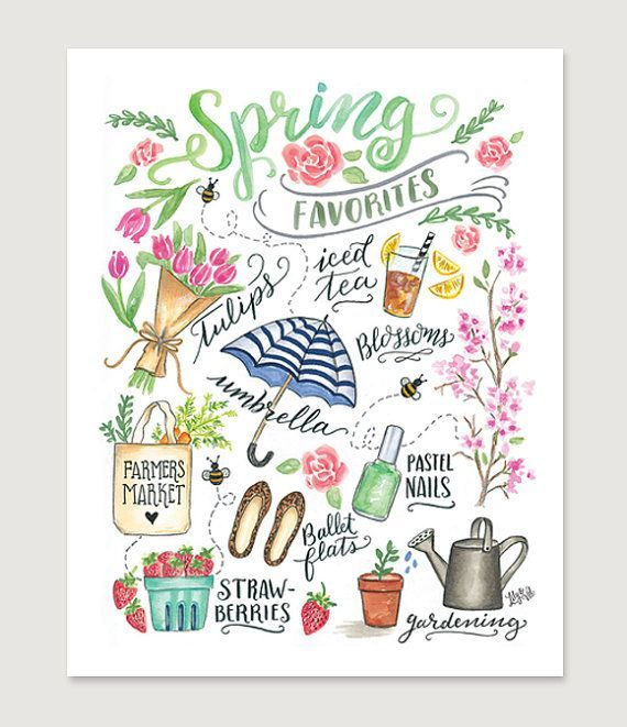 Spring inspiration for your bullet journal and planner • ForeverGoodLife